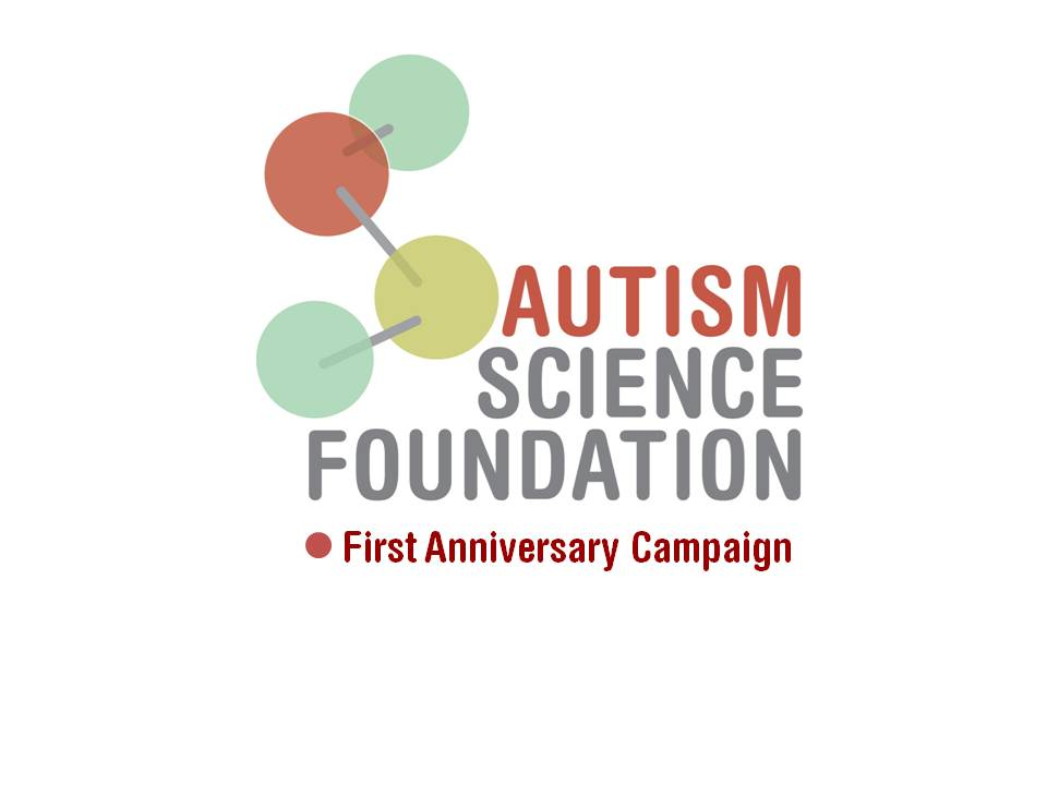 Happy first anniversary autism science foundation asf