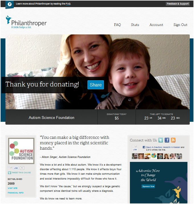 We Go Viral: We're Going Viral With Philanthroper.com