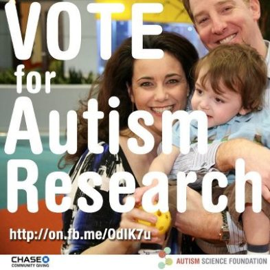 Vote for Autism Research