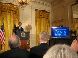 President Obama announces new BRAIN Initiative