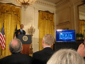 President Obama announces new BRAIN Initiative