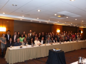 Participants at the sex and gender differences meeting in October