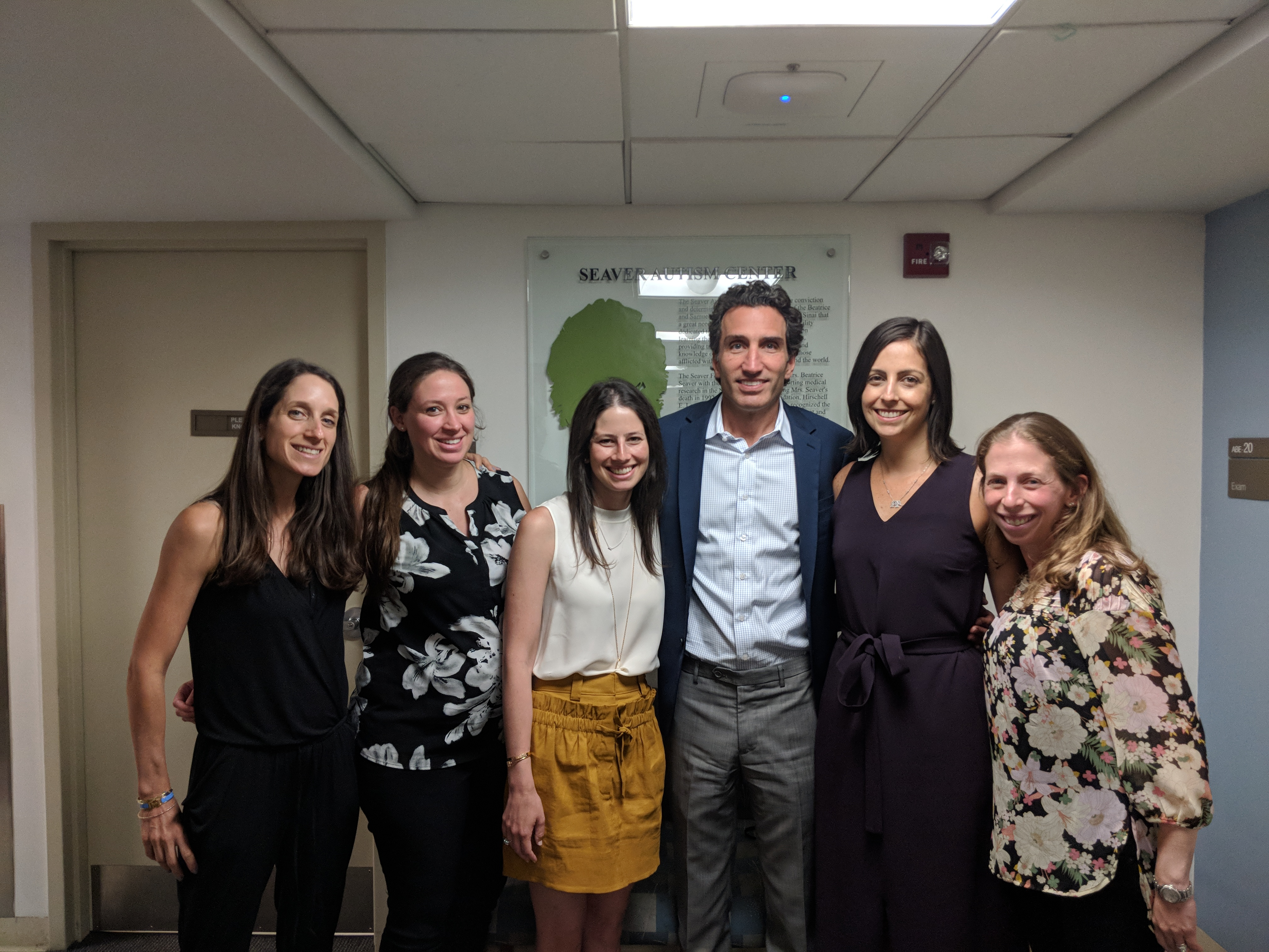 Faculty members of Dr. Kolevzon's lab at the Seaver Autism Center